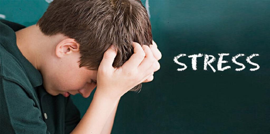علت استرس دانش آموزان